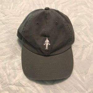 Golds gym gray cap